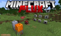 Flux mod for minecraft logo