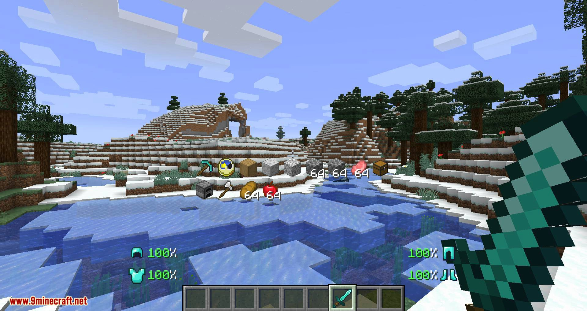 Inventory HUD+ mod for minecraft 09