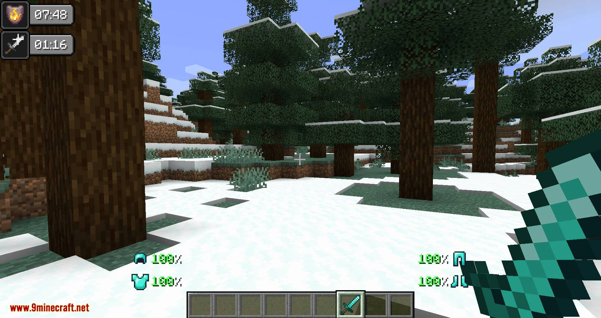 Inventory HUD+ mod for minecraft 11