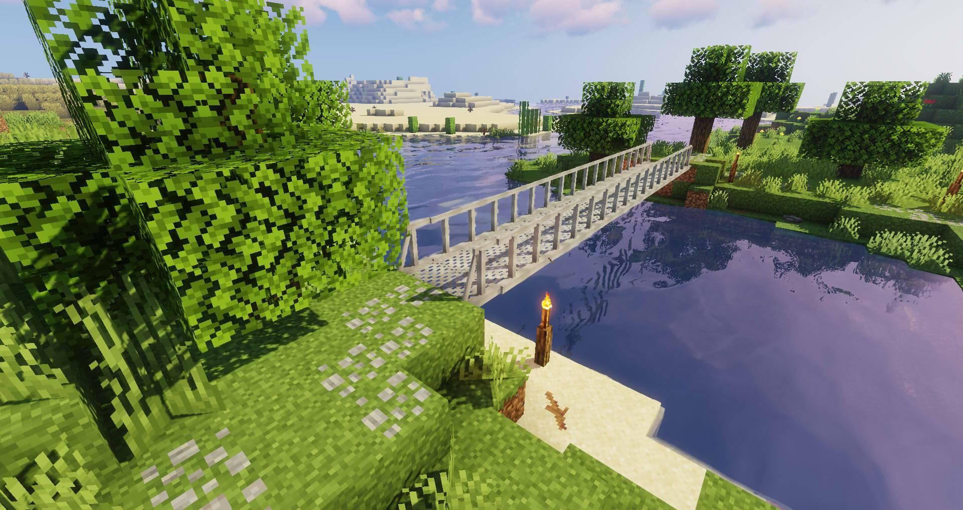 Macaw_s Bridges mod for minecraft 21