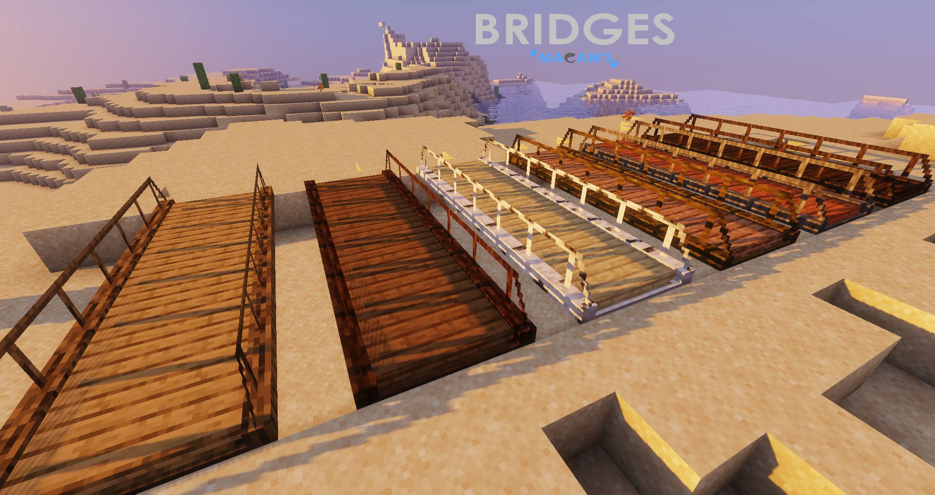 Macaw_s Bridges mod for minecraft 22