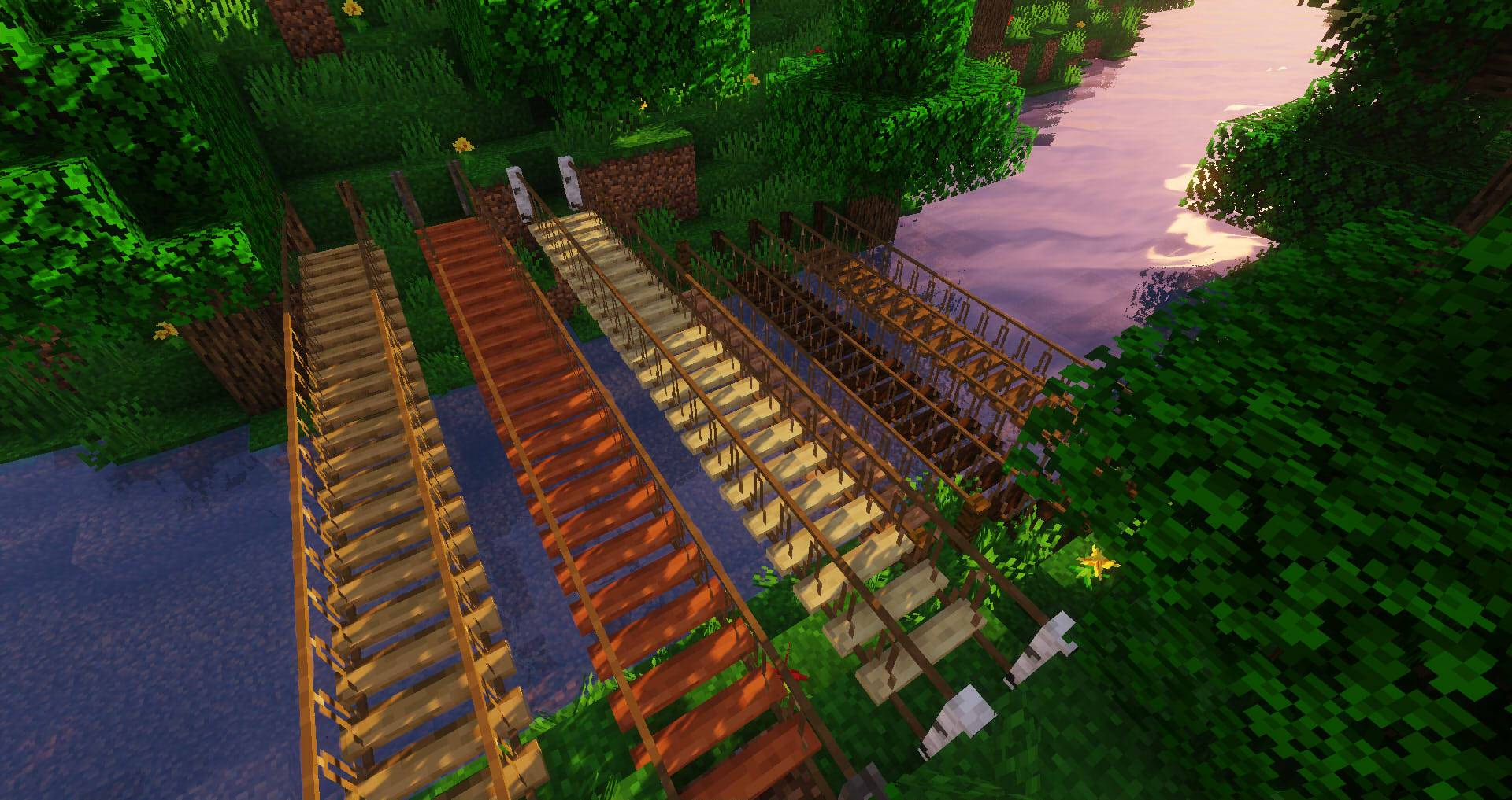 Macaw_s Bridges mod for minecraft 24