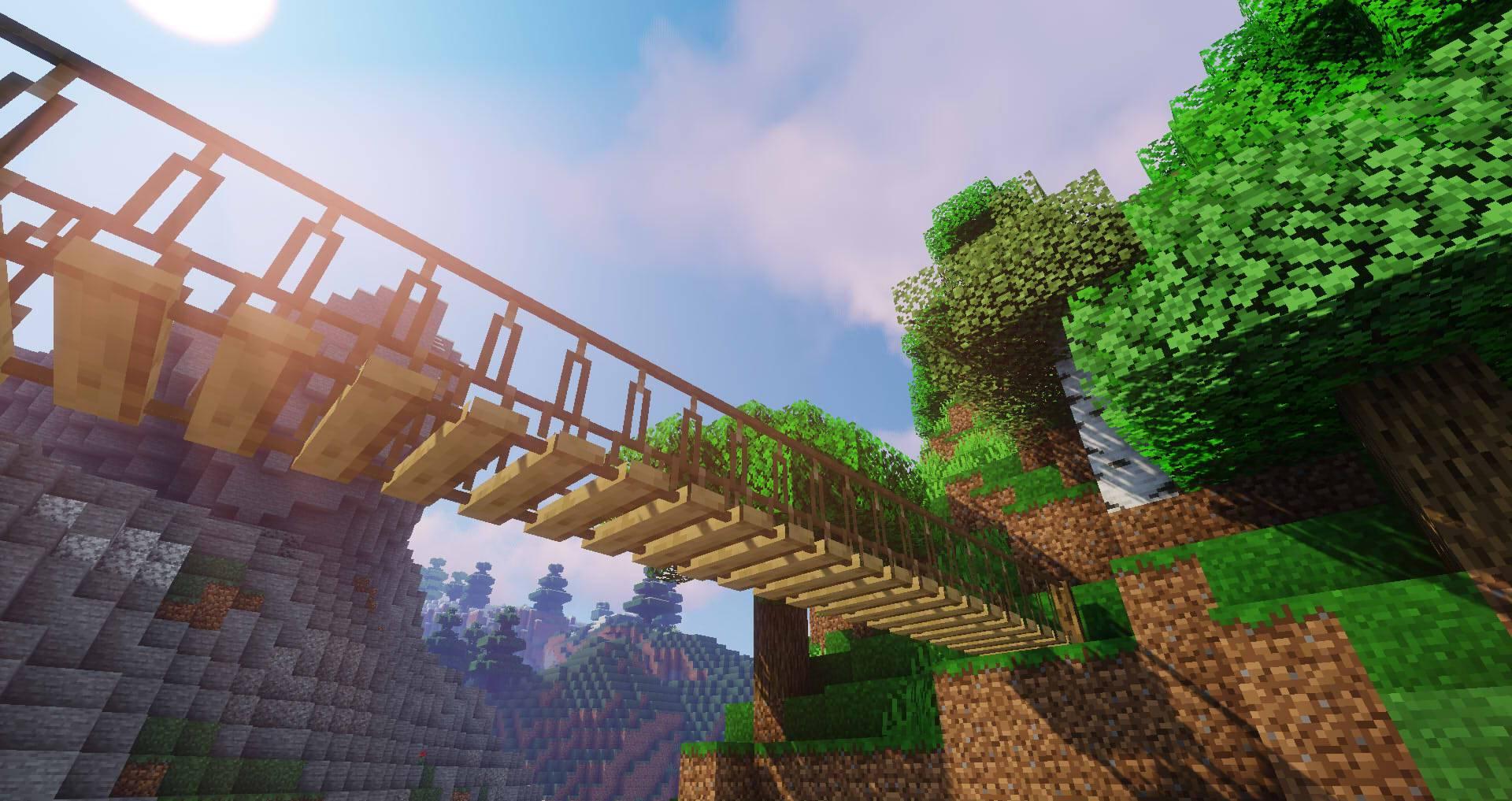 Macaw_s Bridges mod for minecraft 25