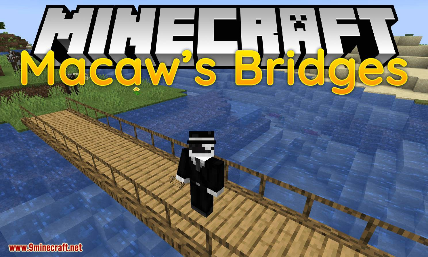 Macaw_s Bridges mod for minecraft logo
