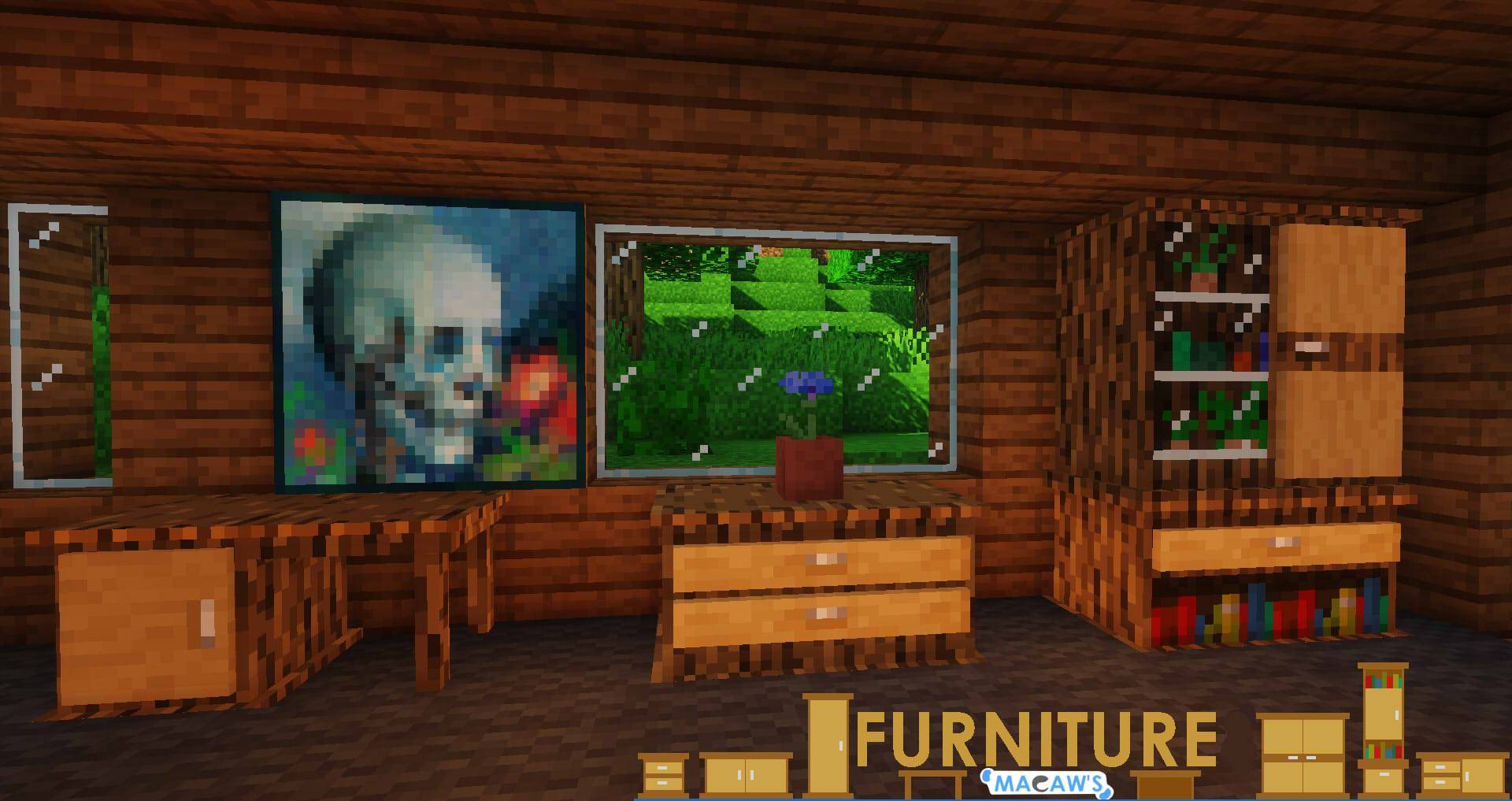 Macaw_s Furniture mod for minecraft 21