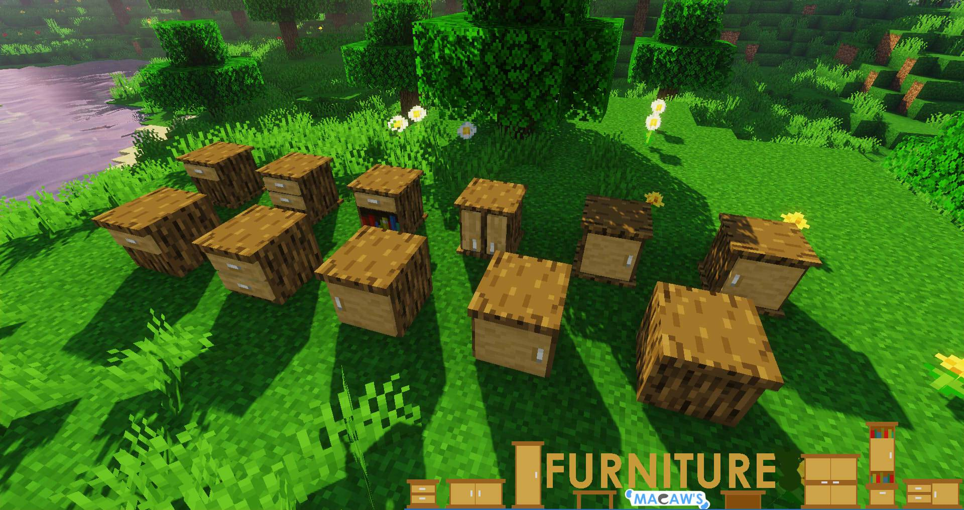 Macaw_s Furniture mod for minecraft 22
