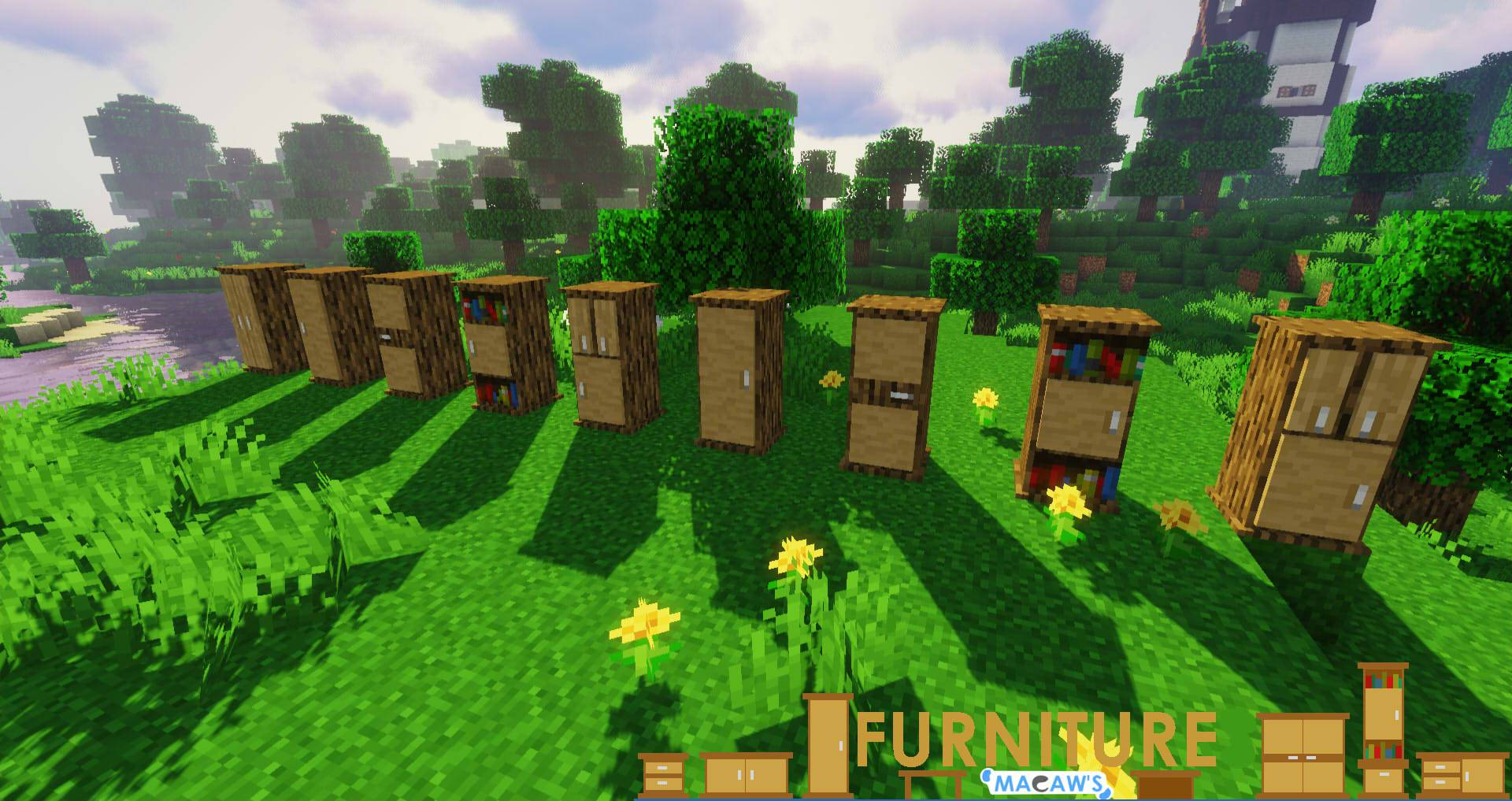 Macaw_s Furniture mod for minecraft 23