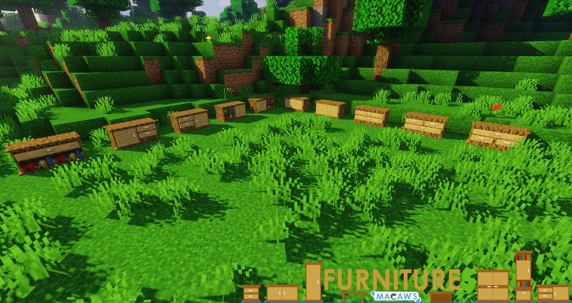Macaw_s Furniture mod for minecraft 25