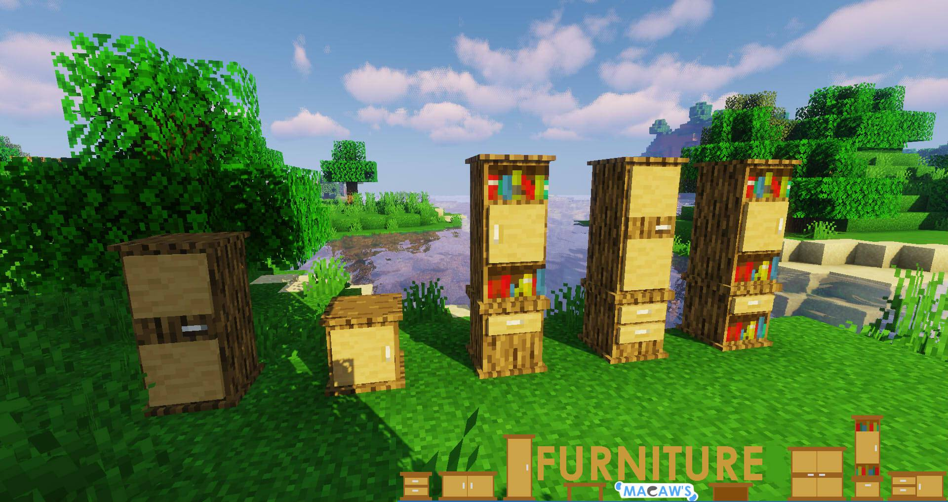 Macaw_s Furniture mod for minecraft 26