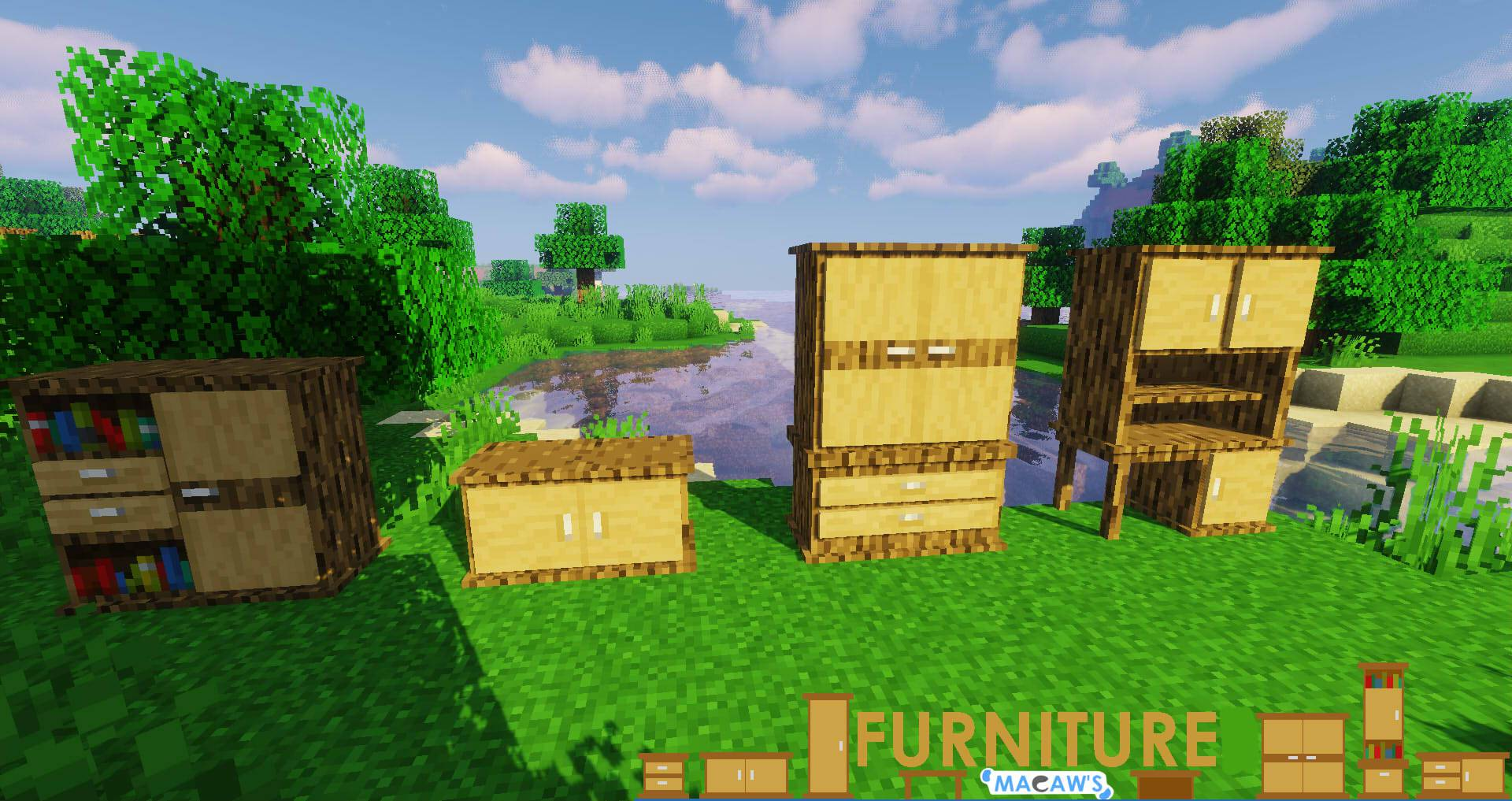 Macaw_s Furniture mod for minecraft 27