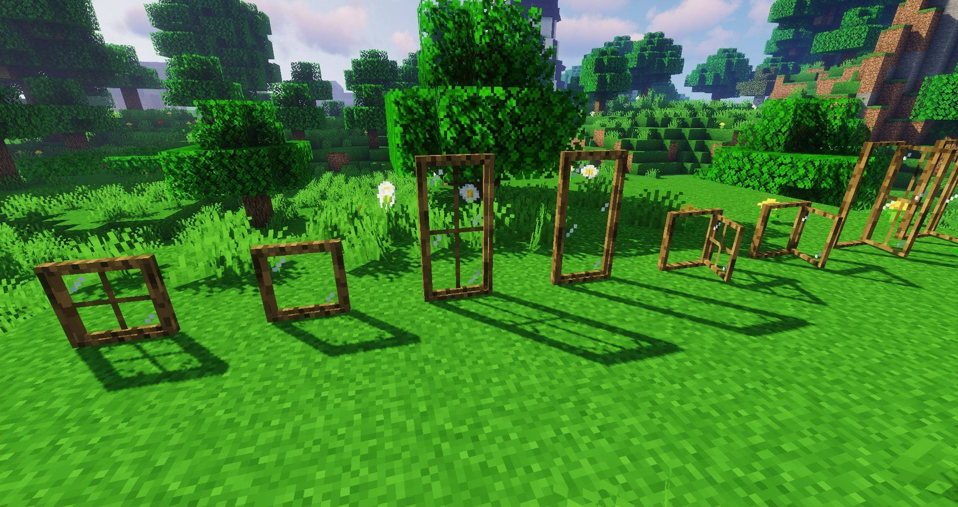 Macaw_s Windows mod for minecraft 25
