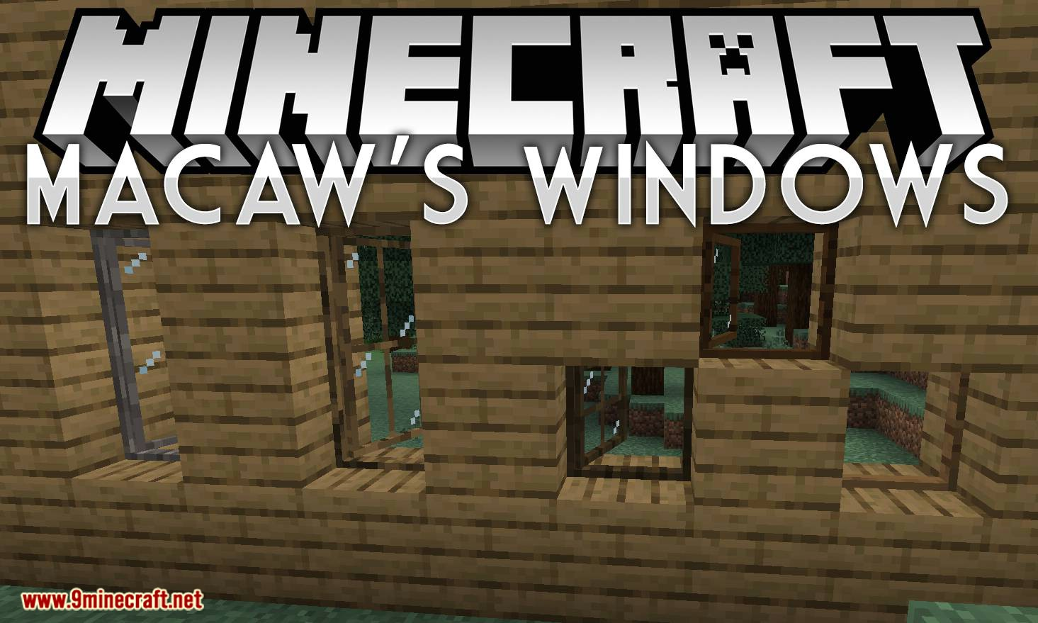 Macaw_s Windows mod for minecraft logo