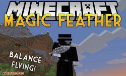 Magic Feather mod for minecraft logo