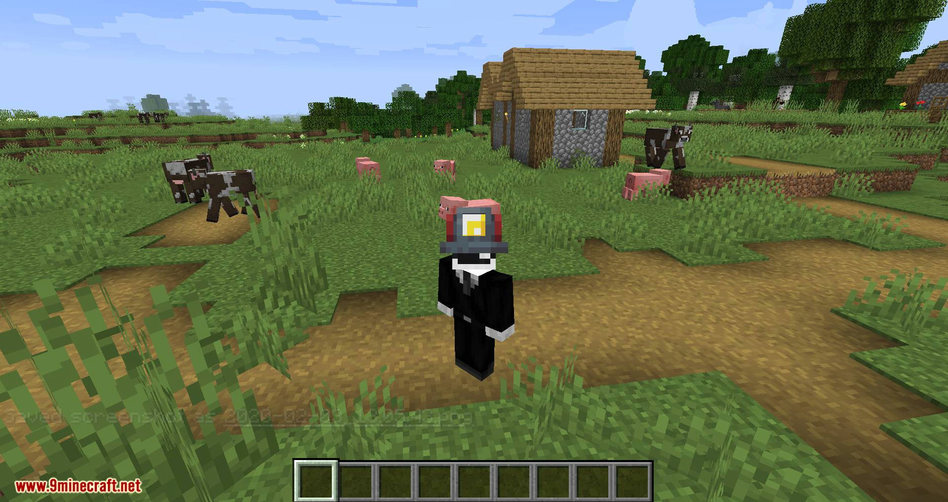 Miner_s Helmet mod for minecraft 02