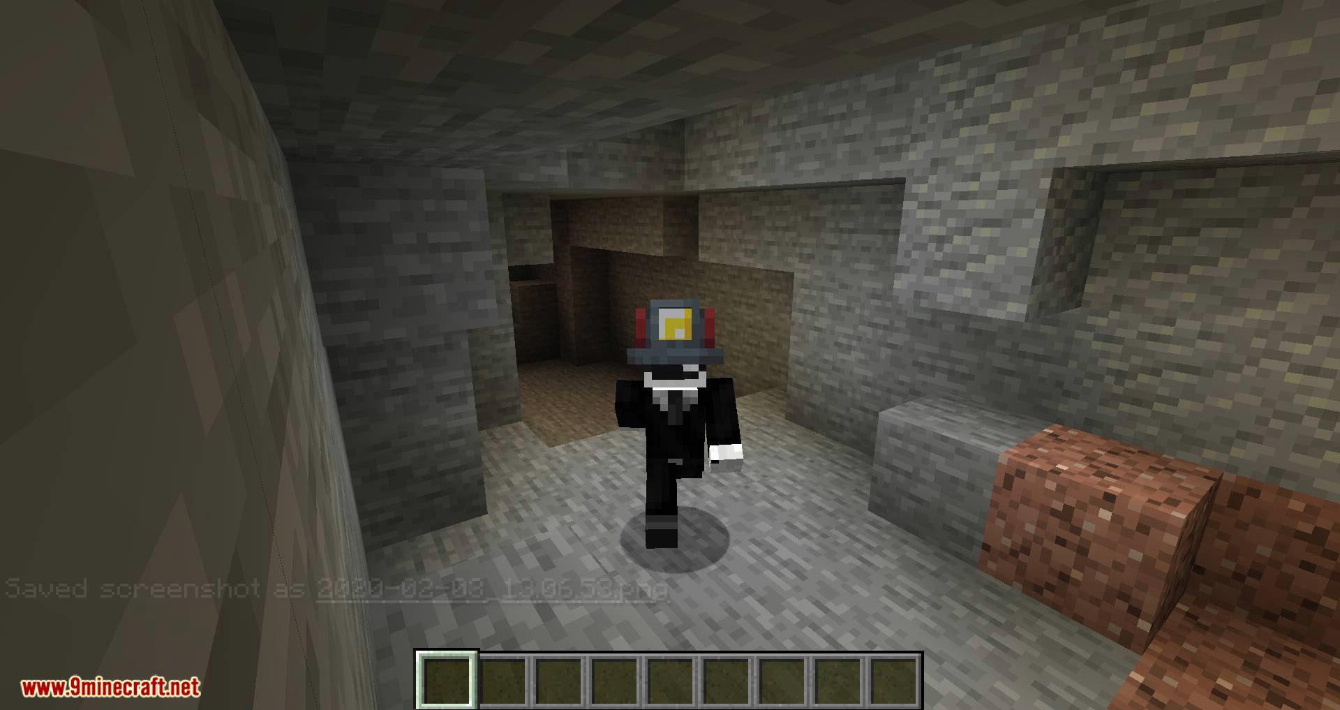 Miner_s Helmet mod for minecraft 06