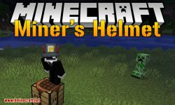 Miner_s Helmet mod for minecraft logo