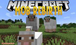 Mob Rebirth mod for minecraft logo