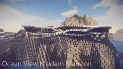 Ocean View Modern Mansion Map Thumbnail