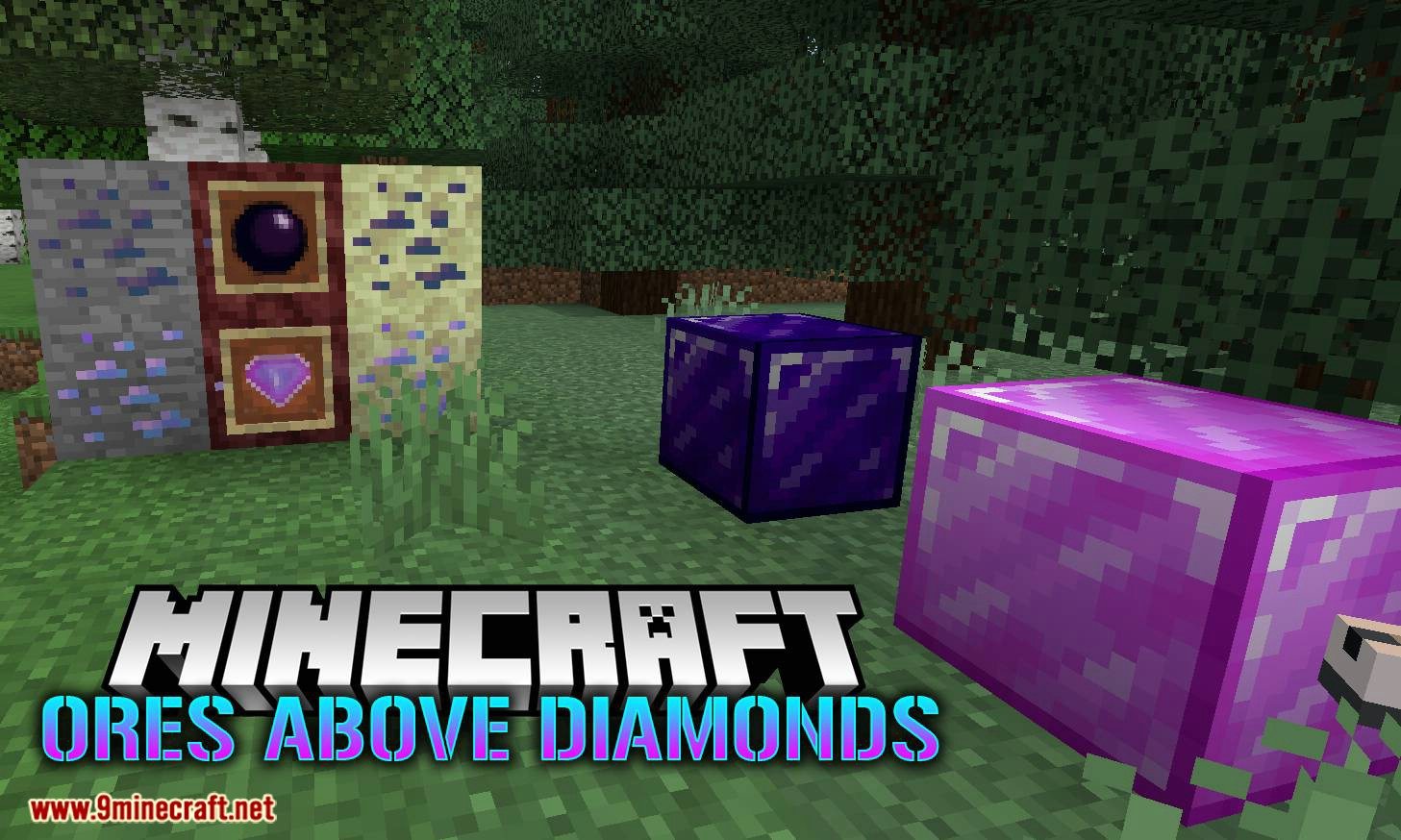 Ores Above Diamonds Mod 1 16 5/1 15 2 (Extremely Rare But Very