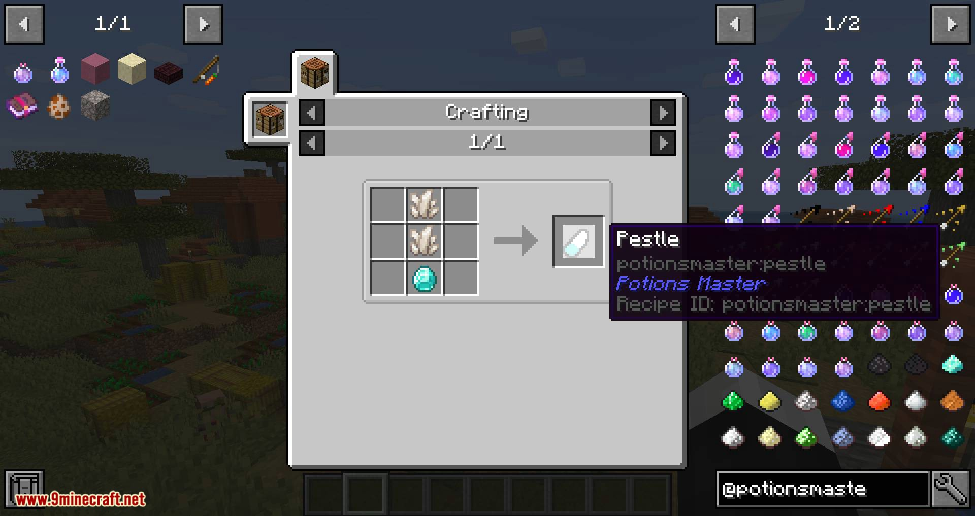 Potions Master mod for minecraft 01