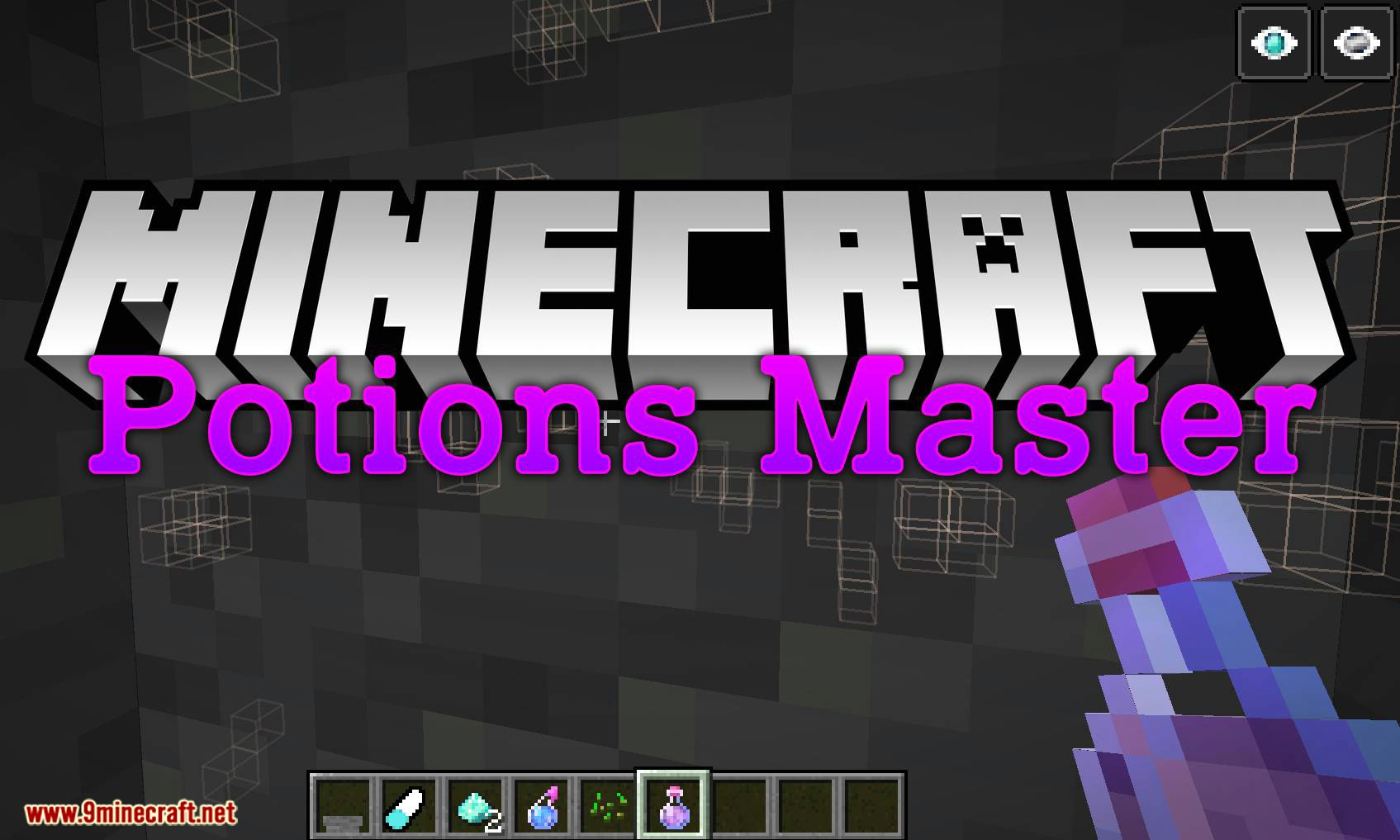 Potions Master mod for minecraft logo