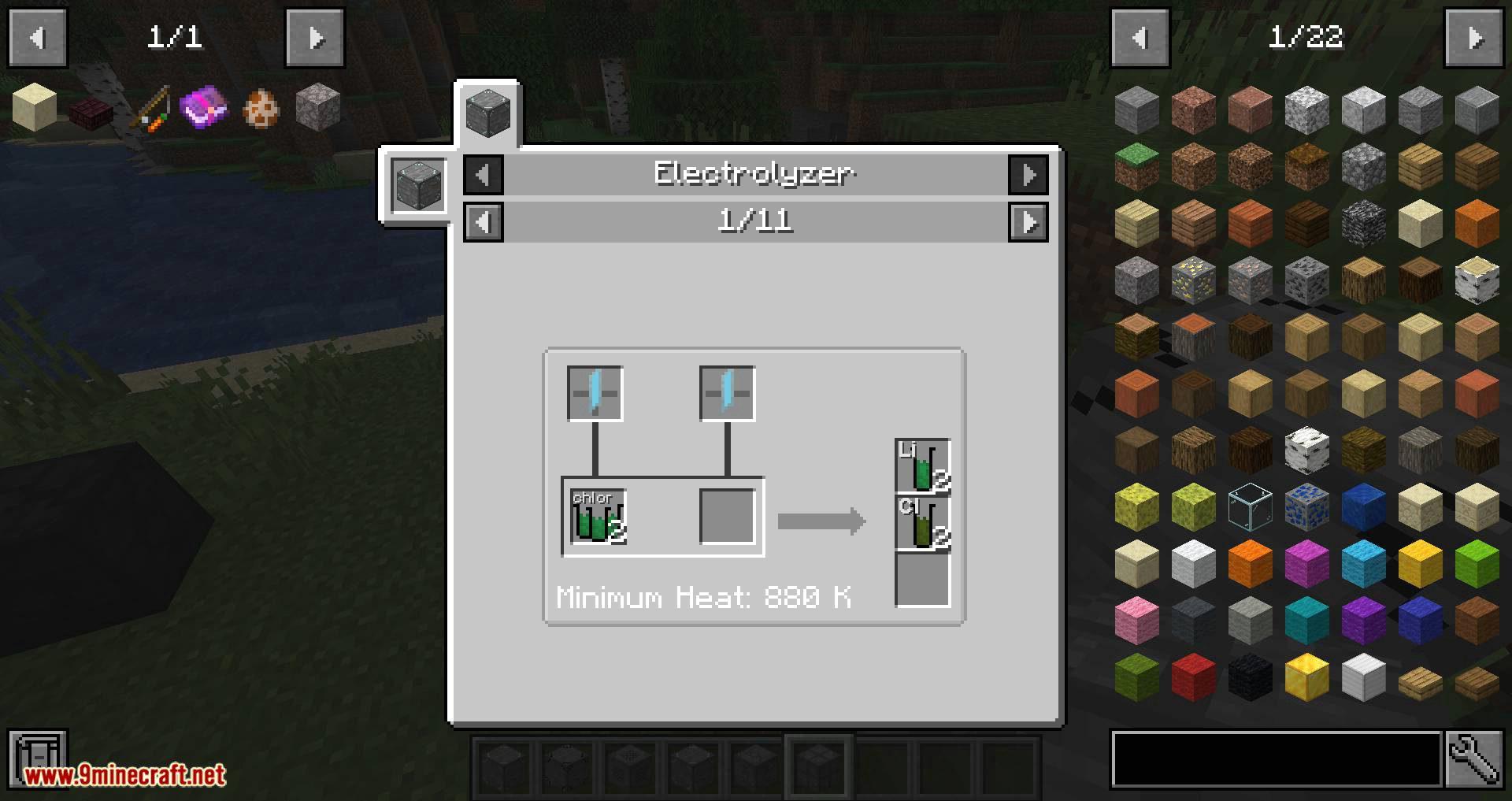 Techemistry mod for minecraft 13