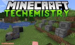 Techemistry mod for minecraft logo