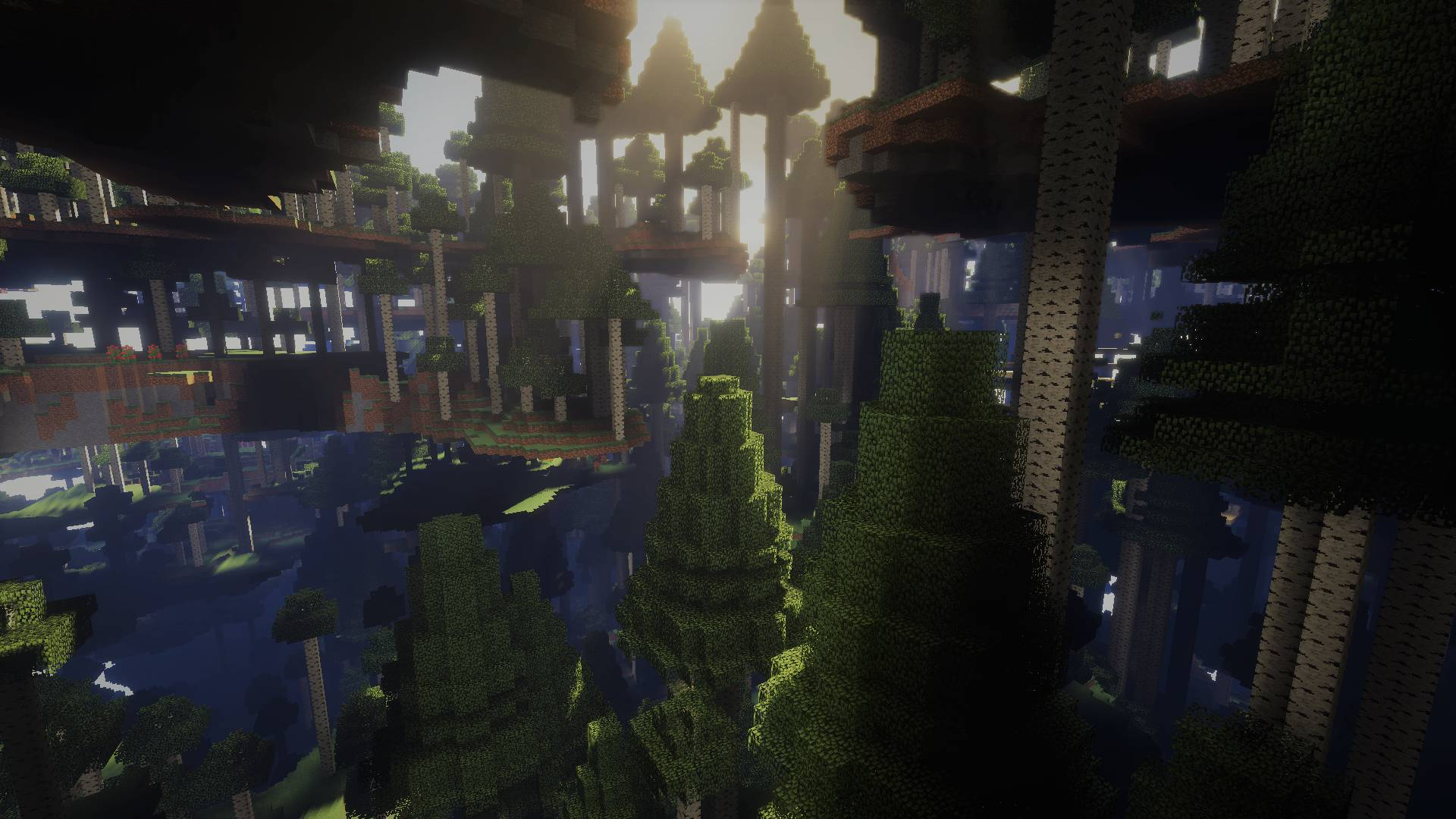 Ultra Amplified Dimension mod for minecraft 23