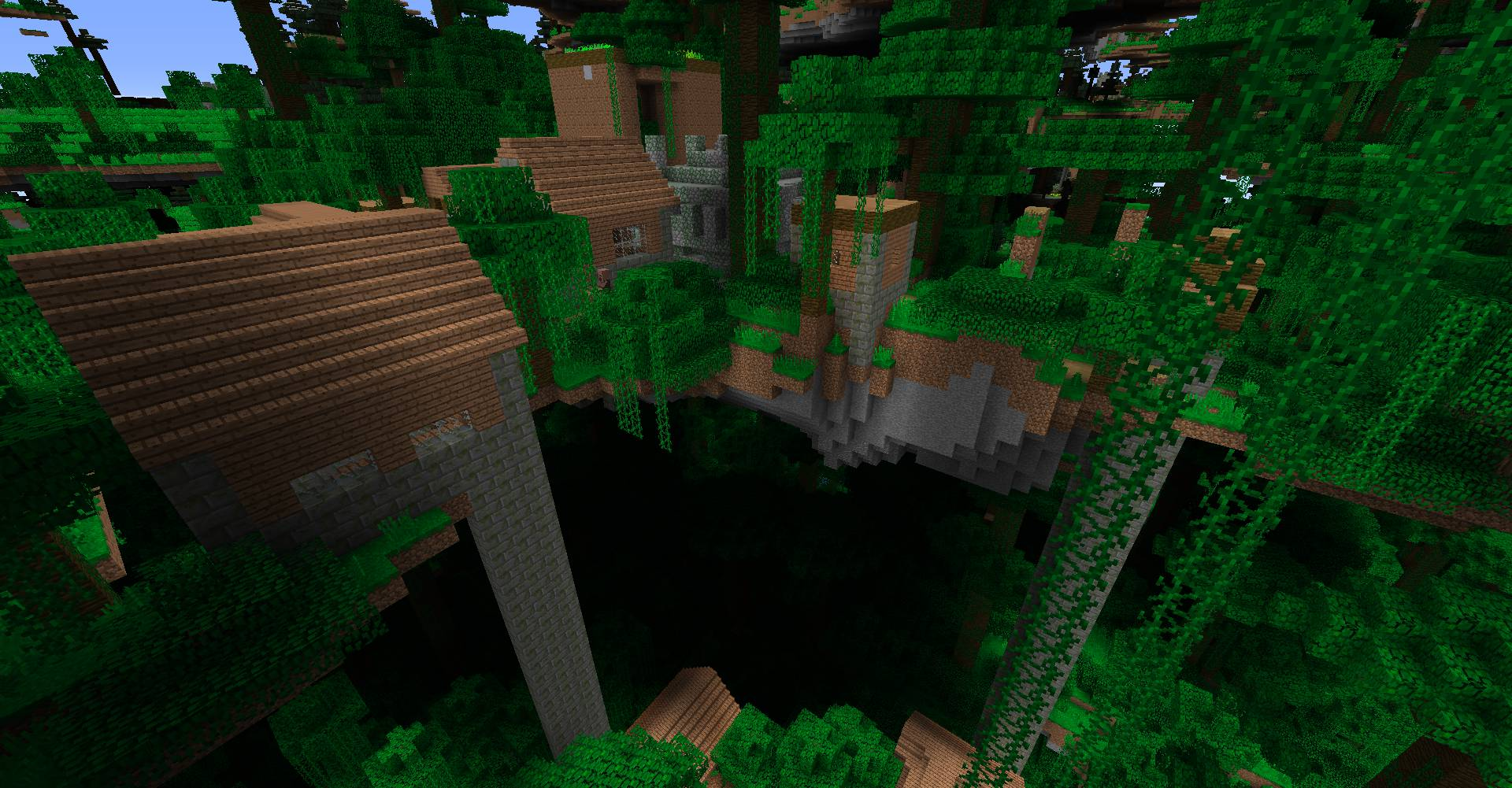 Ultra Amplified Dimension mod for minecraft 27