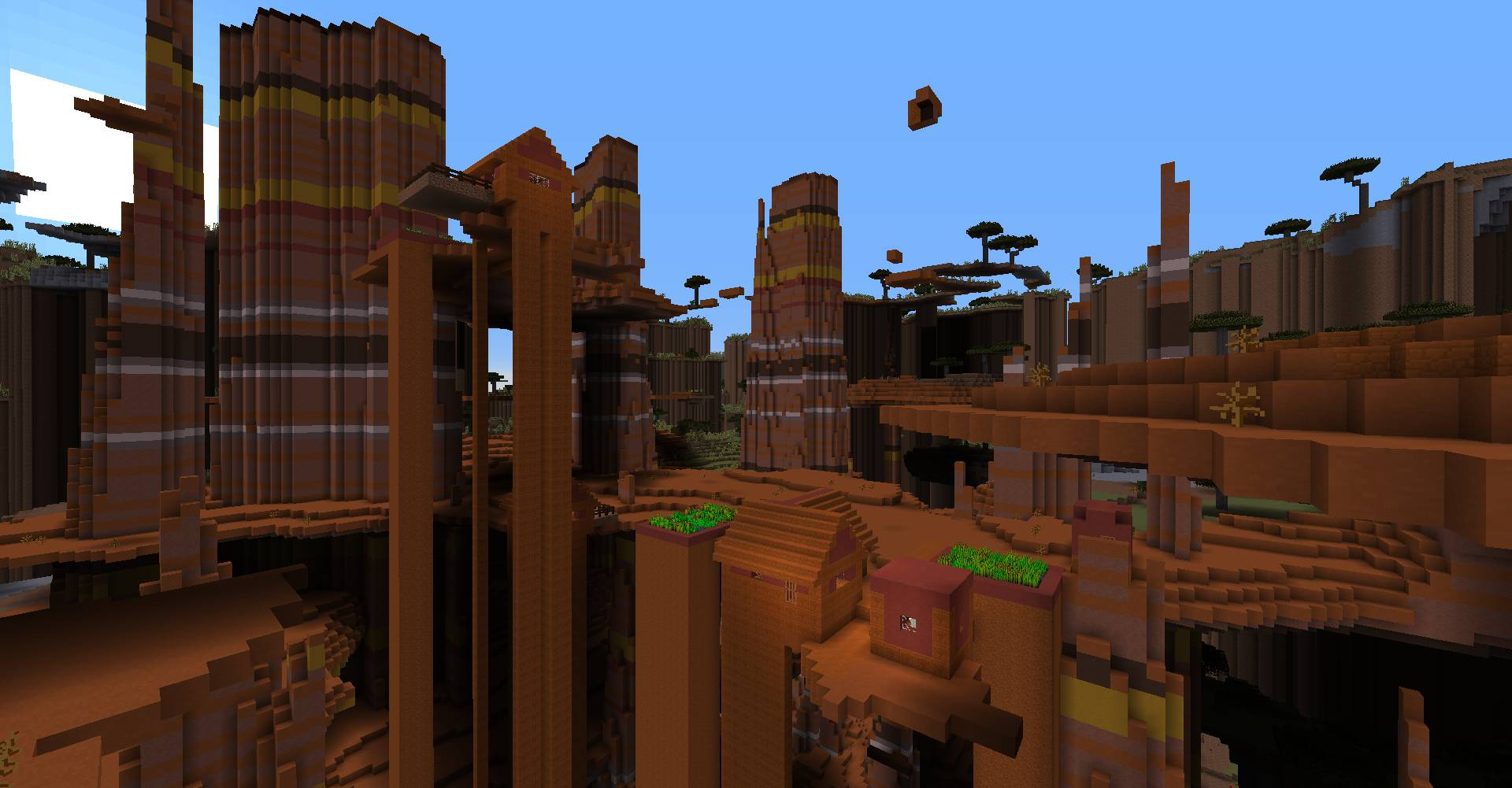 Ultra Amplified Dimension mod for minecraft 31