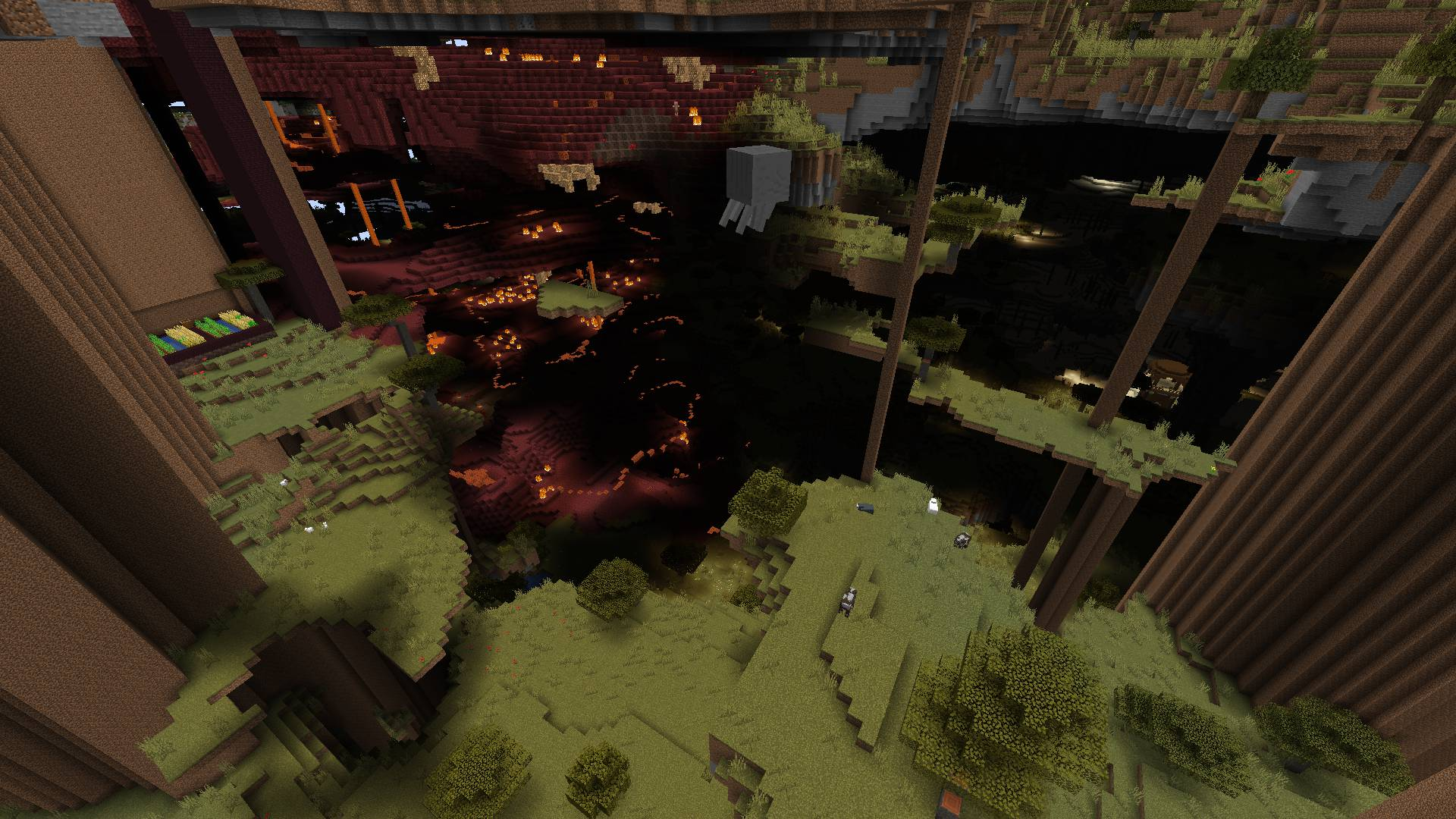 Ultra Amplified Dimension mod for minecraft 38