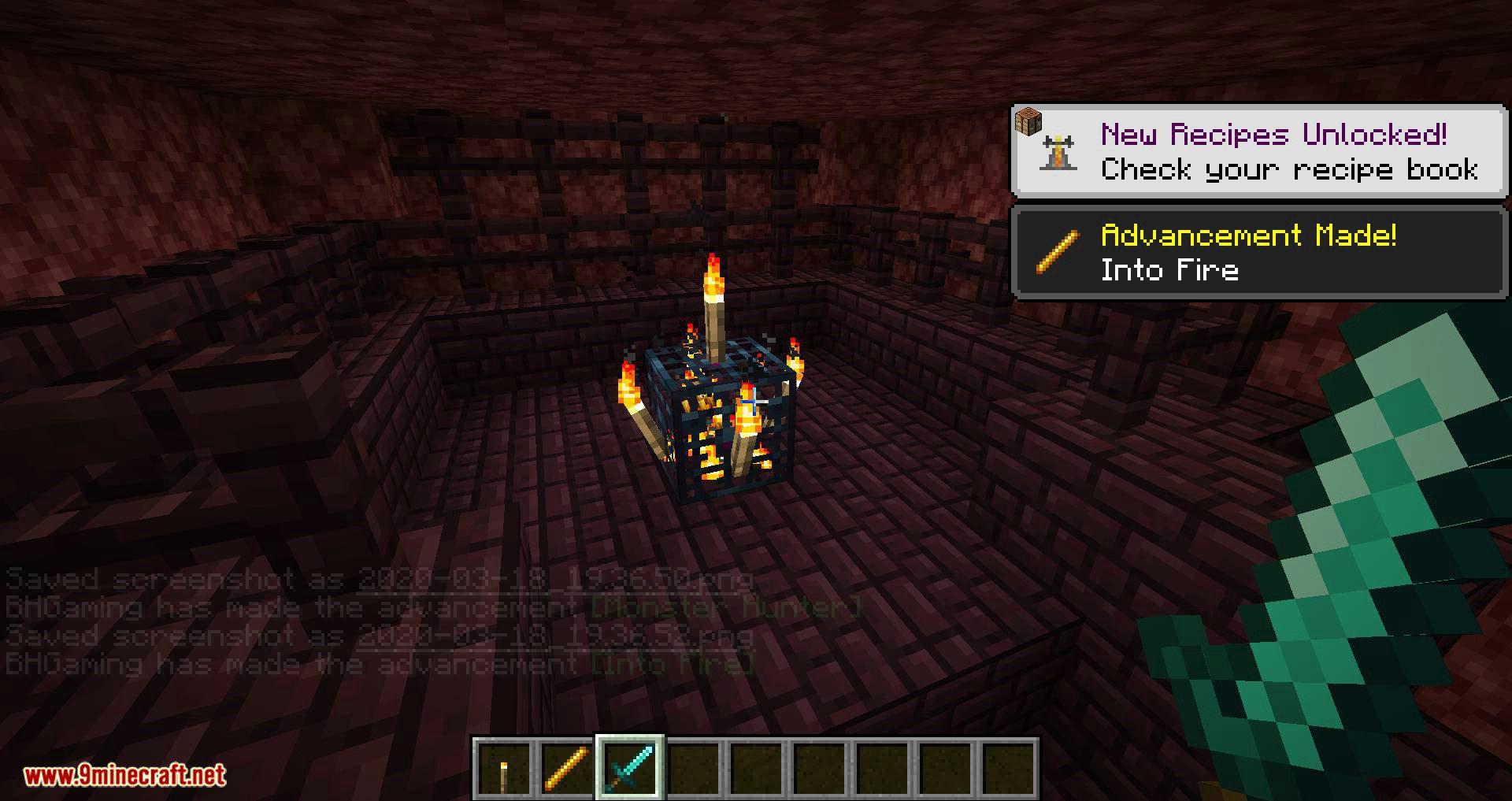 Better Spawner Control mod for minecraft 05