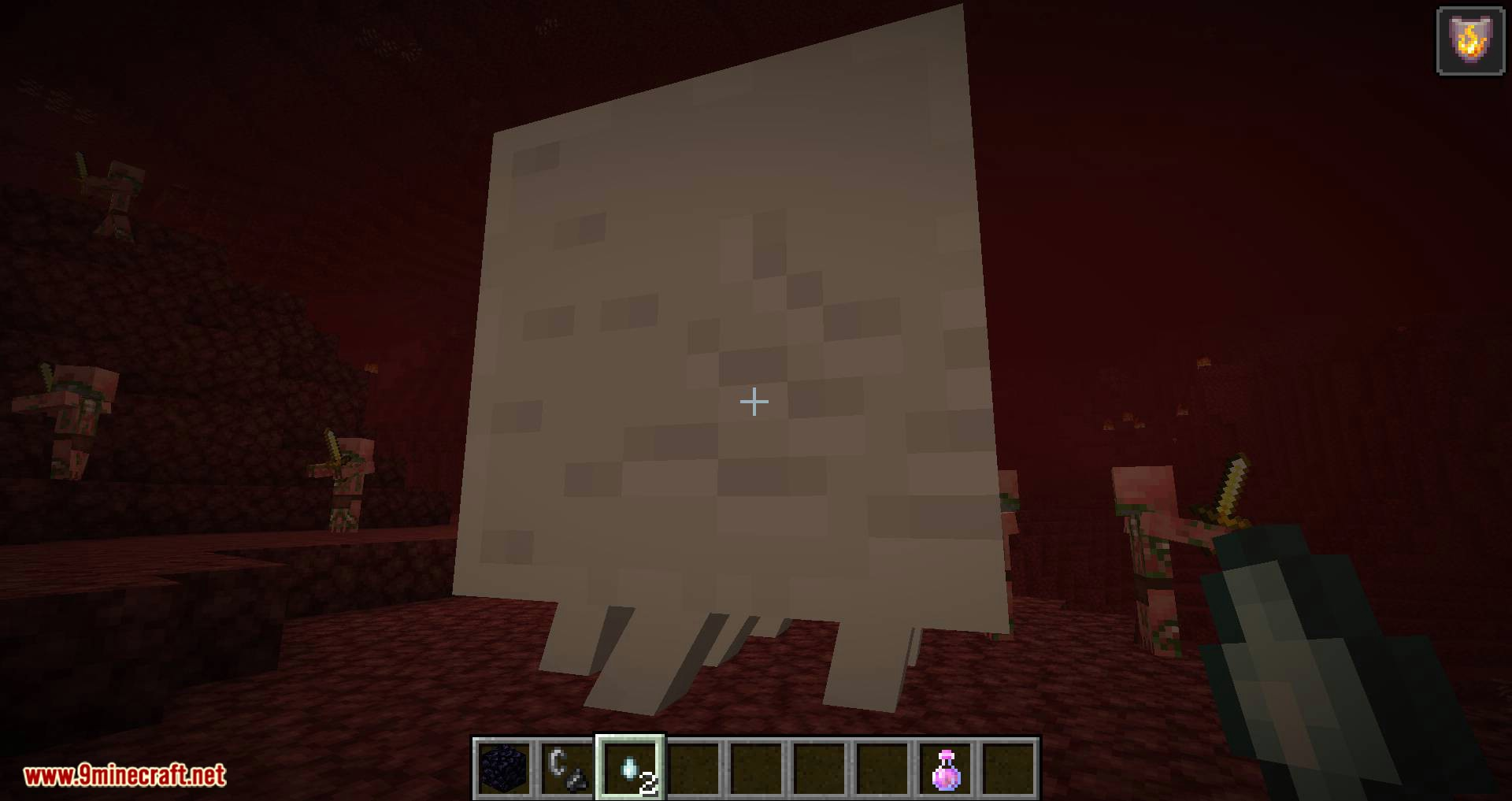 Crying Ghasts mod for minecraft 07