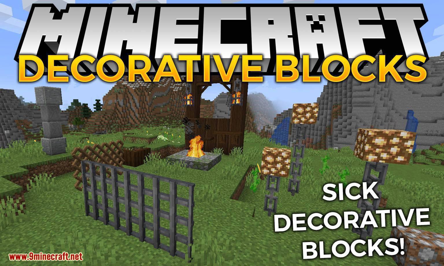 Decorative Blocks Mod 1 16 1 1 15 2 Sick New Decoration Blocks Lurkit