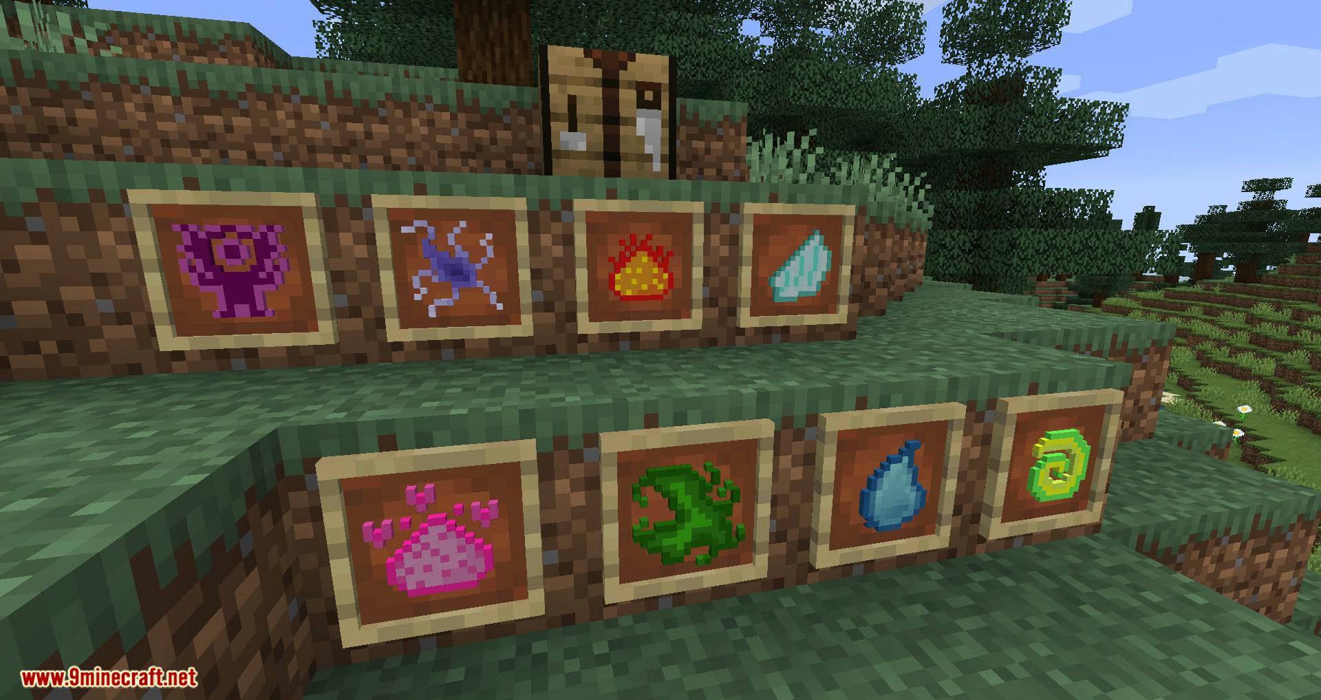 Elementary Staffs mod for minecraft 04