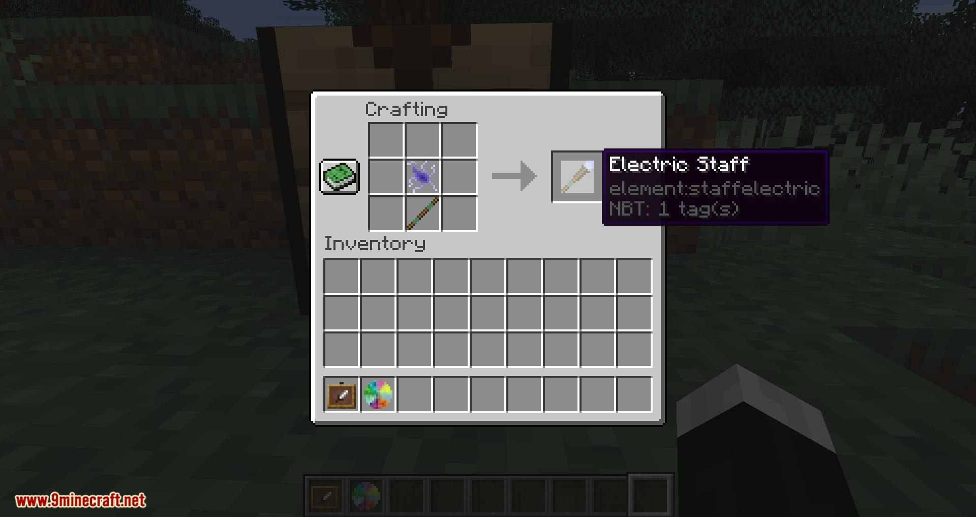 Elementary Staffs mod for minecraft 05