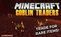 Goblin Traders mod for minecraft logo