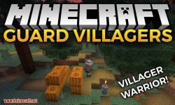 Guard Villagers mod for minecraft logo