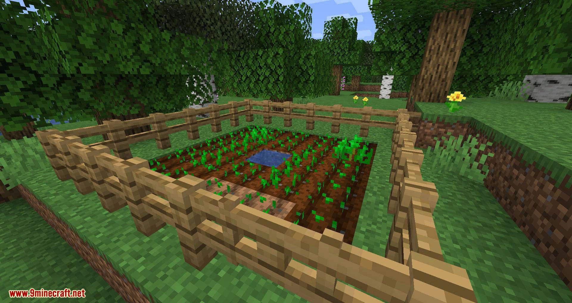 Harvest mod for minecraft 01
