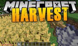 Harvest mod for minecraft logo