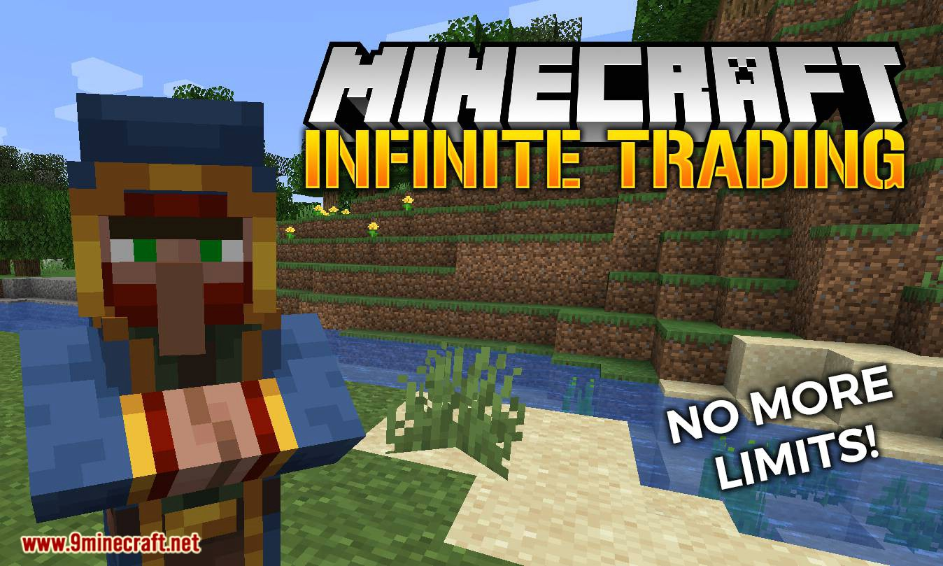 Infinite Trading mod for minecraft logo