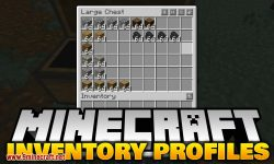 Inventory Profiles mod for minecraft logo
