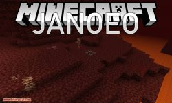 JANOEO mod for minecraft logo