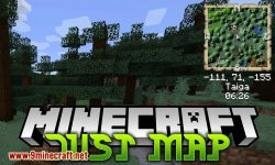 Just Map mod for minecraft logo