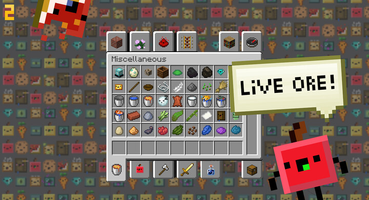 Living Items Resource Pack Screenshots 5