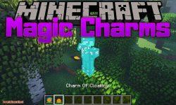 Magic Charms mod for minecraft logo