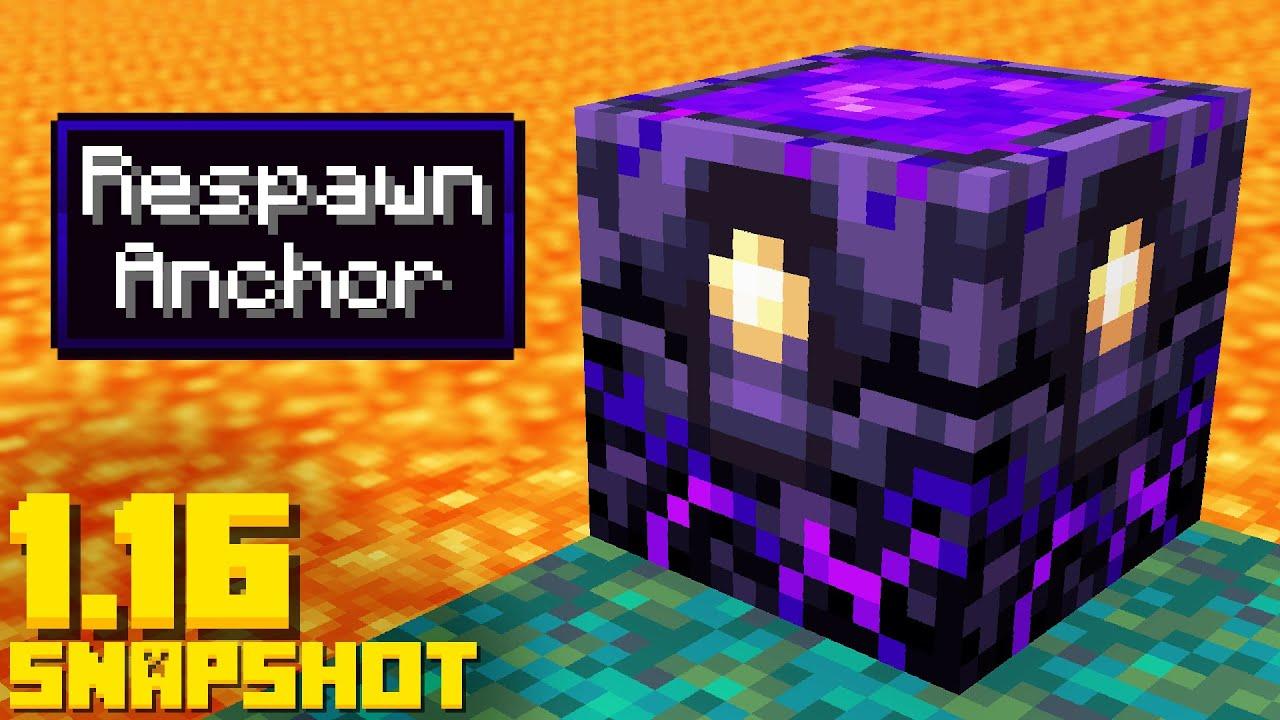 Minecraft 1.16 Snapshot 20w12a