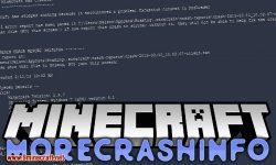MoreCrashInfo mod for minecraft logo