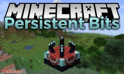 Persistent Bits mod for minecraft logo
