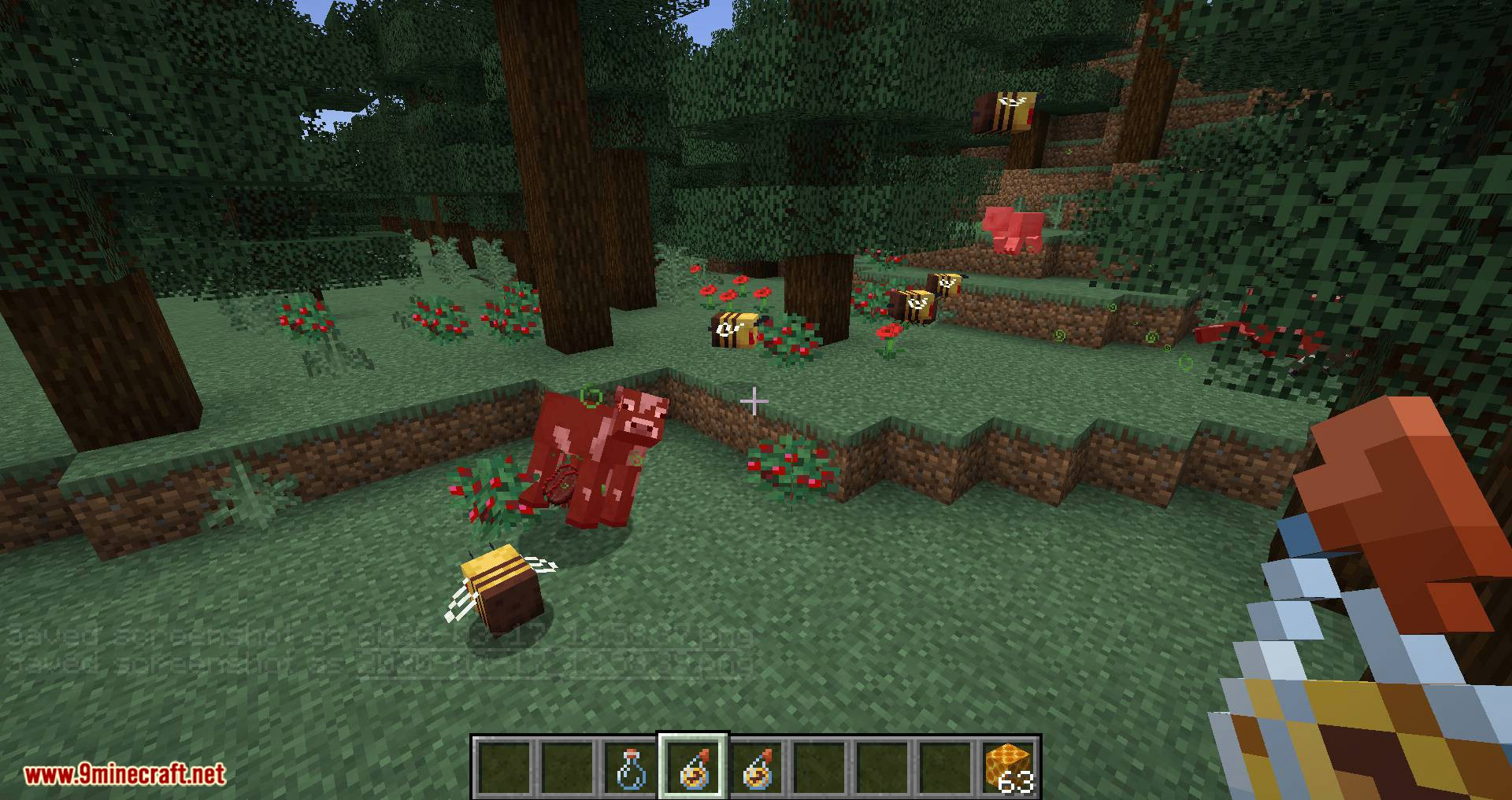 Potion of Bees mod for minecraft 12